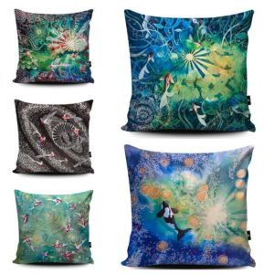 Selection of fishes cushions